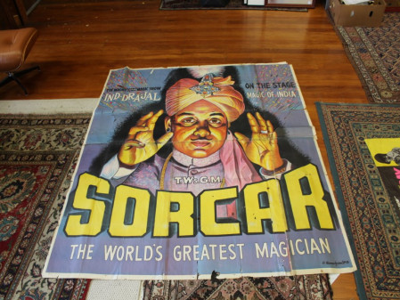 Vintage Magician, Circus & Movie Posters